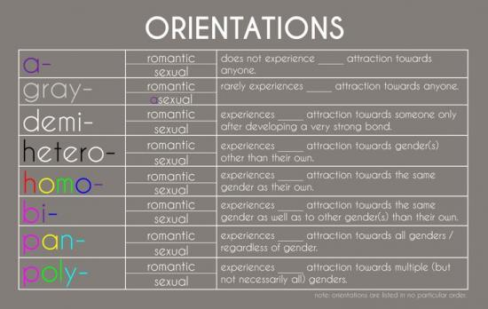 lgbtq sexual attraction whats difference between romantic